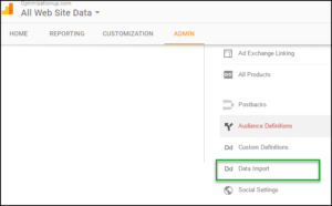 data-import-google-analytics