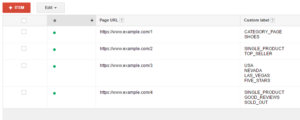 page feed dynamic search ads